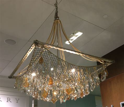 Like A Chandelier Amazing Chandelier Seen At Henredon Furniture Store Looks Like A Fish Net With