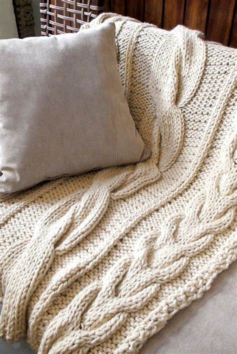 chunky knit throw blanket buy designer chunky knit throw blanket homelosophy