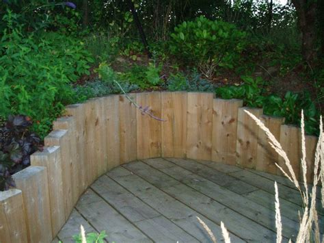 image result  stacked logs  retaining wall sleeper