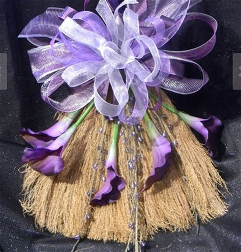 How To Decorate A Broom For A Wedding by Jumping The Broom Broom Weddings Style And Decor