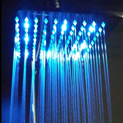 Shower Led by Square Wall Mount Led Shower