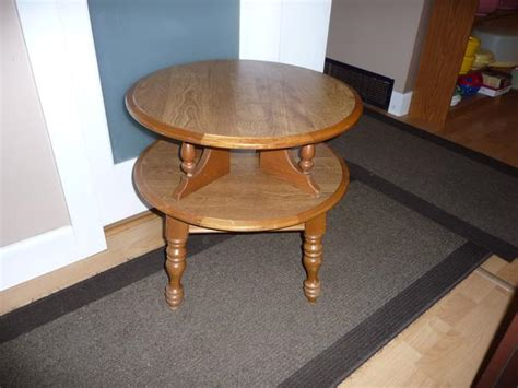 two tier end table two tier end table central nanaimo nanaimo
