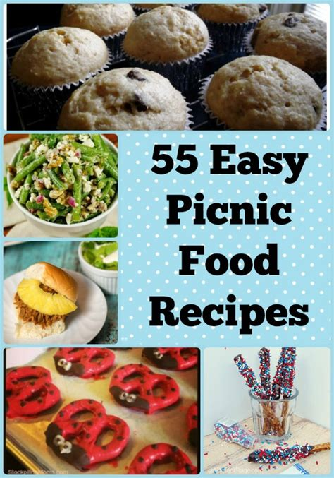 55 easy picnic food recipes
