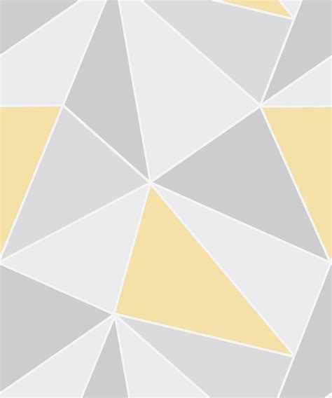grey yellow apex geometric yellow grey wallpaper decorsave wallpapers