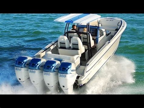 hi performance outboard boats seavee z high performance stepped hull fishing boat doovi