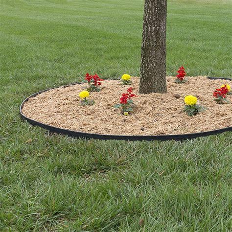 Easyflex Landscape Edging Dimex 3000 124 8 Easyflex No Dig Tree Ring Kit At Sutherlands