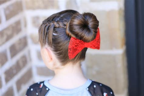bun shaped hair styles how to create a love bun valentine s day hairstyles