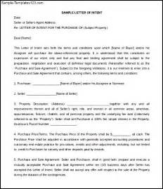 letter of intent sample commercial real estate word free