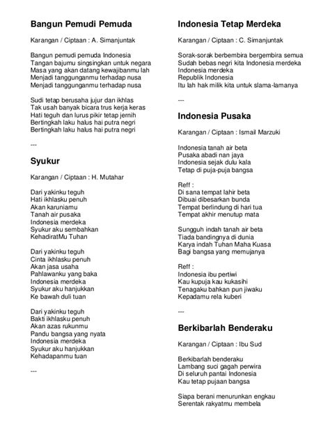 despacito indonesia chord kumpulan lirik lagu wajib kebangsaan indonesia download