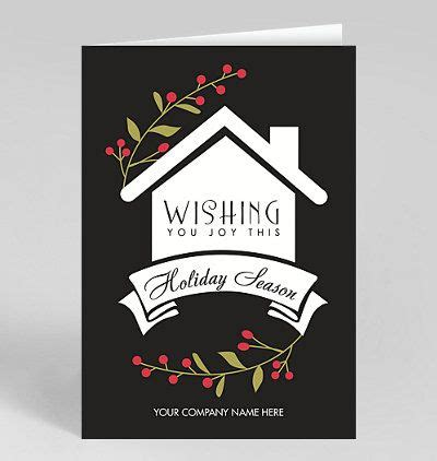 christmas wishes holiday card real estate christmas cards happy holiday greeting cards