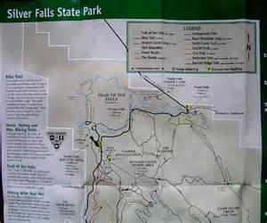 silver falls oregon map cascade ramblings ramblings perimeter trail hike