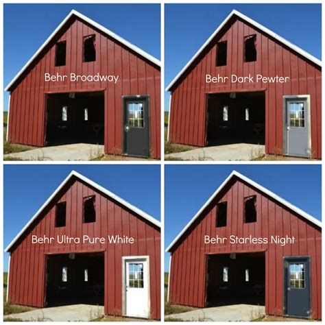 barn colors schemes studio design gallery best design