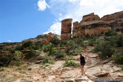 Devils Kitchen Trail by Devils Kitchen Trail Colorado National Monument