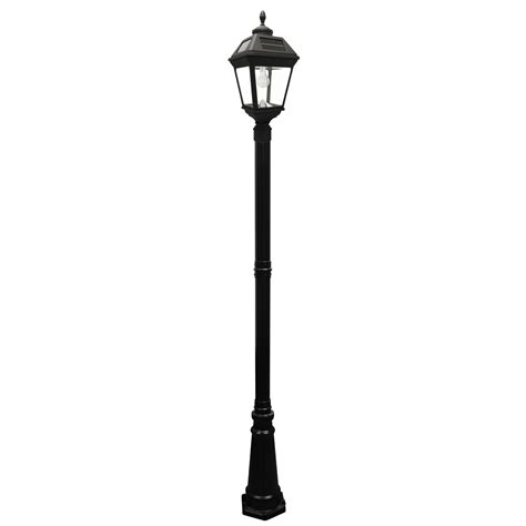 Imperial Bulb Solar L And Single L Post With Gs Solar Light Post