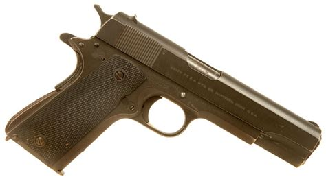 deactivated pre d day wwii colt 1911a1 allied