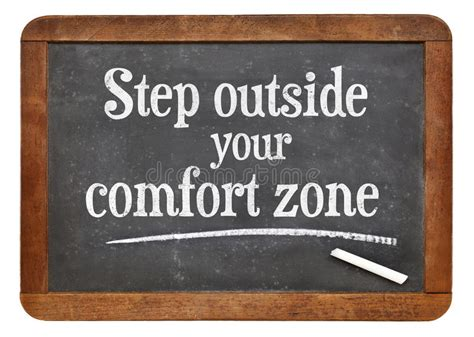 step outside your comfort zone step outside your comfort zone stock photo image 50147077