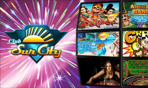 club suncity classic slot games arcade games mobile  games account malaysia