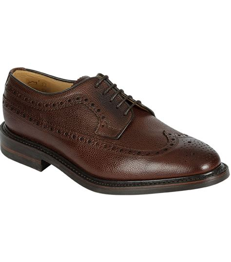 Mens Handmade Shoes Uk - kenmore longwing brogue by hoggs of fife handmade shoes