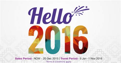 new year airline promo promo malindo air new year big all fare rm 59