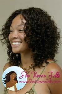curly black hair sew in 17 best images about medium length hairstyles on pinterest
