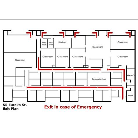 Red Evacuation Map Rs 3000 Piece S Subham Safety House Id 9954083497 Building Evacuation Map Template