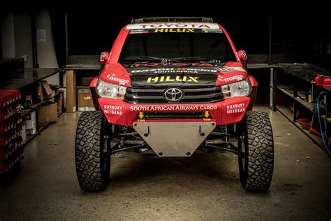 truck rally toyota ready to tackle 2017 dakar rally with hilux evo