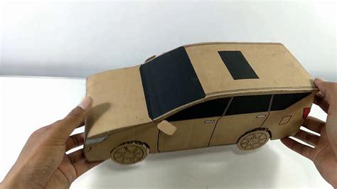 membuat mobil mainan  kardus innova reborn ide