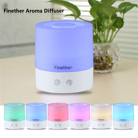 Essential Aroma Diffuser Humidifier 7 Led Color Nig Murah electric essential burner aroma diffuser led
