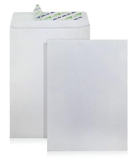 Pocket Sealer 12 Regular Molins 162x229mm white peel seal envelope no window international