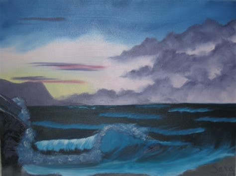 bob ross painting seascape bob ross style seascape by laughingstockstables on deviantart