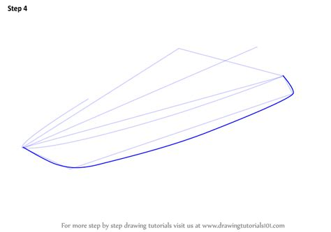 boat shape drawing learn how to draw a yacht boats and ships step by step