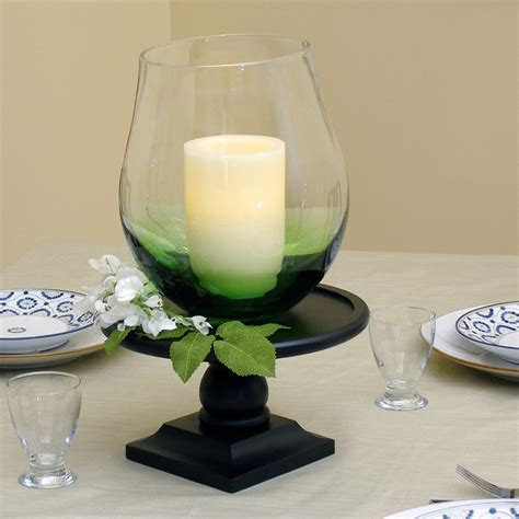 hurricane ls with flameless pacific accents bordeaux flameless candle holder with