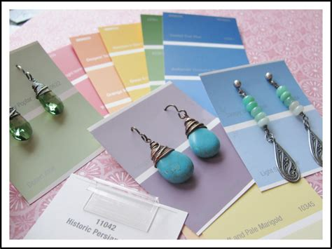 how to make earring display cards diy earring cards that won t the bank rings and