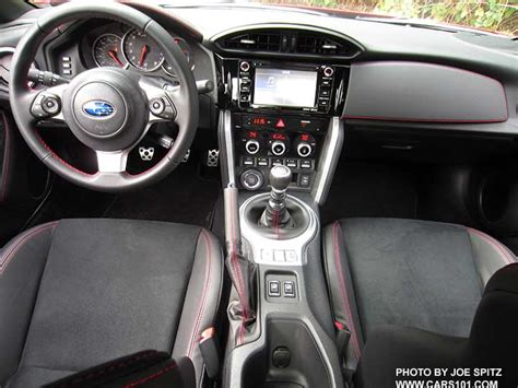 2017 Brz Interior Photos And Images Premium Limited
