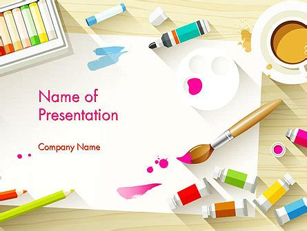 art and entertainment powerpoint presentation templates