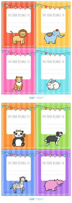 printable book labels ks2 twinkl resources gt gt this book belongs to labels