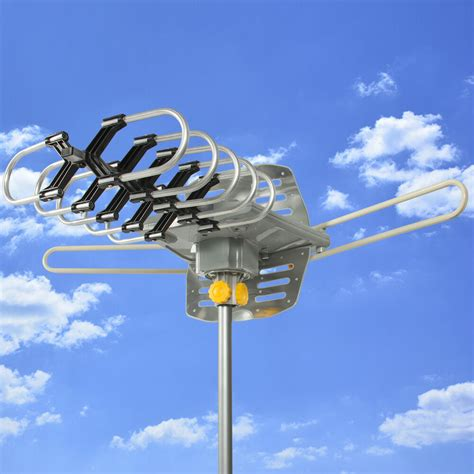 hdtv motorized remote outdoor amplified antenna  uhf