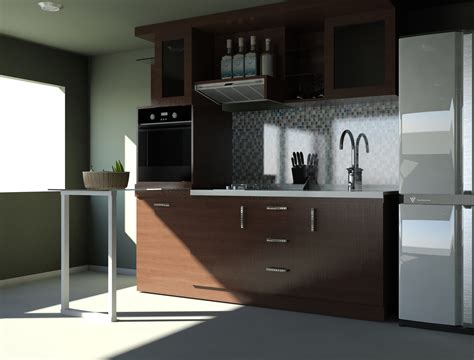 Kitchen Set Design 15 Minimalist Kitchen Set Design Freshouz