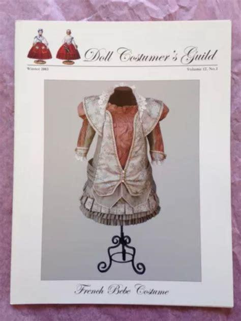doll guild 17 best doll costumer s guild journal sew