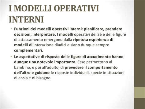modelli operativi interni la teoria dell attaccamento