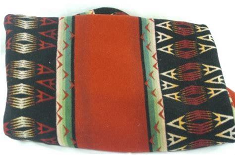 Vintage Pendleton Blanket Patterns by Vintage Pendleton Indian Aztec Pattern Wool Blanket 72