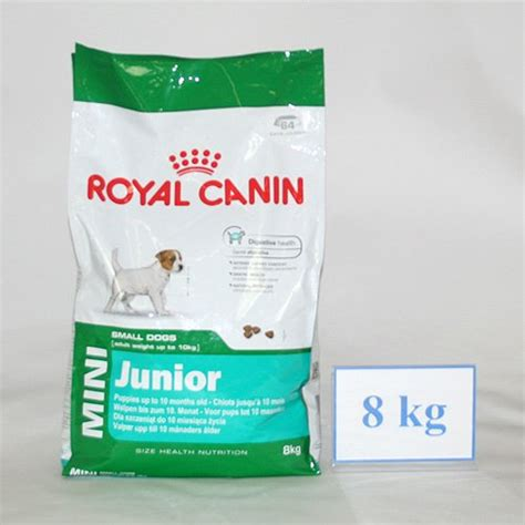 royal canin mini junior all dogs 1 10kg 8kg