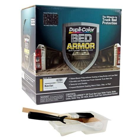 duplicolor bed armor dupli color bed armor liner kit