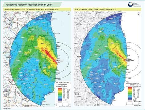 fukushima radiation map danger of living in fukushima spacebattles forums