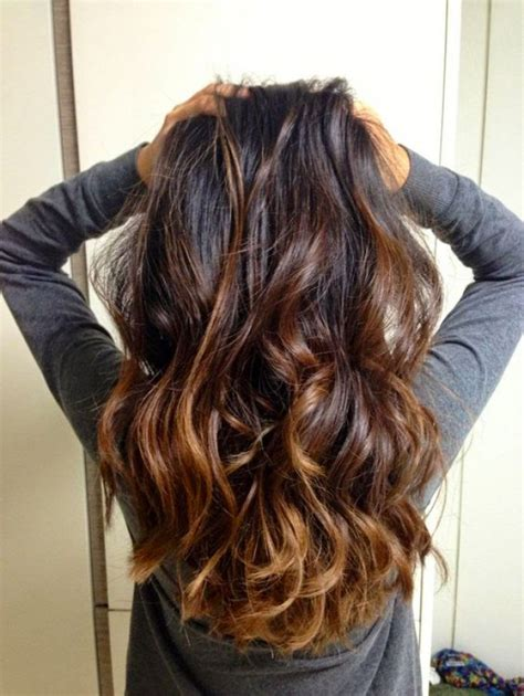 does hair look like ombre when highlights growing out ombre hair marron caramel la grosse tendance 224 suivre