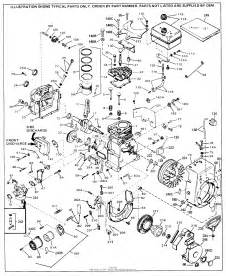 tecumseh hs50 67161d parts diagram for engine parts list 1