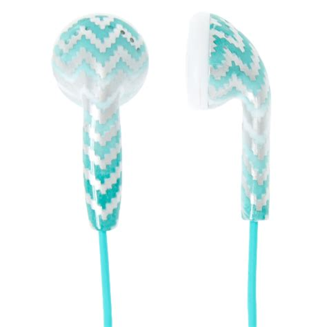 Sm Gift Card 2000 - mint chevron ombre earbuds claire s us