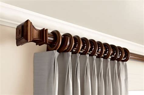 kirsch wood curtain rods kirsch wood trends collection williams drapery hardware