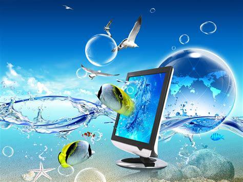 imagenes n 3d fonditos 3d waves 3d paisajes cad