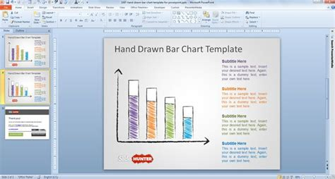 free presentation templates for powerpoint 2007 free bar chart template for powerpoint free
